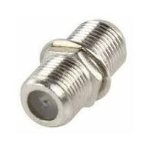 Union Bala F81 Conector Rg6 Y Rg59 Empalme Cable Coaxial