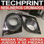 Base Cromada Neblineros Nissan Tiida Versa Latio