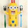 Dispensador Pasta Dental Minions Para Niños
