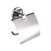 Accesorio Para Baño: Porta Papel Higiénico Cromado