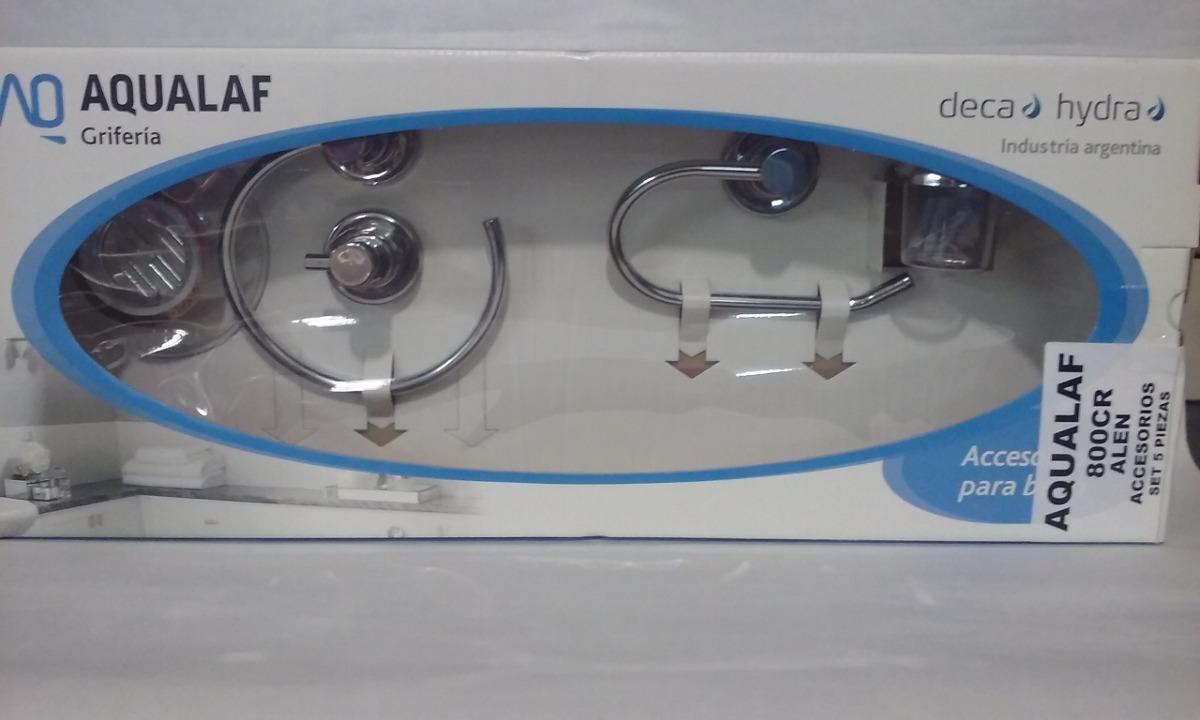 accesorios baño completo set 5 piezas cromado metalico. Cargando zoom. 6f40caa4751a