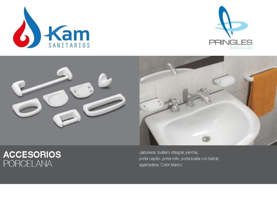 Kit Accesorios Baño 8 Piezas Pringles Set Loza Sanitaria -   1.452 ... efbfdb5aa5e7
