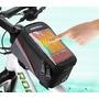 Bolso Porta Celular Bicicleta Roswhell, A Prueba De Agua