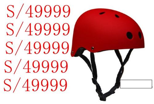 accesorios bicicletas mayorista casco skate guaya luz adulto