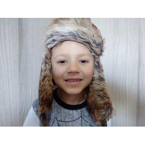 024ceef9543b4 Gorro Russo Infantil Aviador Inverno Chapka