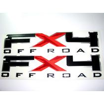 Etiquetas/calcomanias Fx4 Para Camionetas Ford (par)