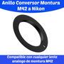 374 Anillo Conversor Montura M42 A Nikon