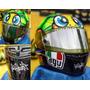 Agv Taratuga Talla L Tear Off Motero Racing Yamaha Honda Ktm