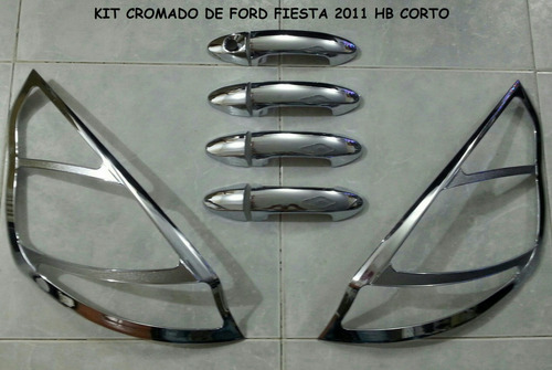accesorios cromados ford fiesta hb 2011