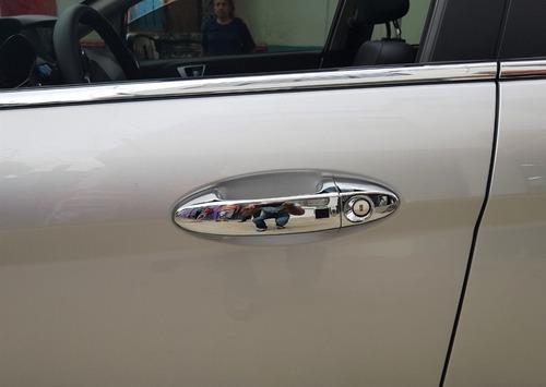 accesorios cromados manijas ford fiesta titanium