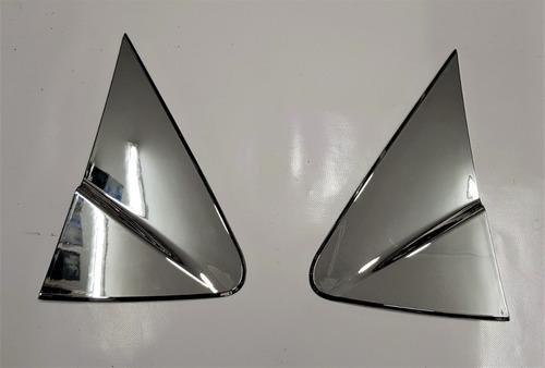 accesorios cromados triangulos  spark gt