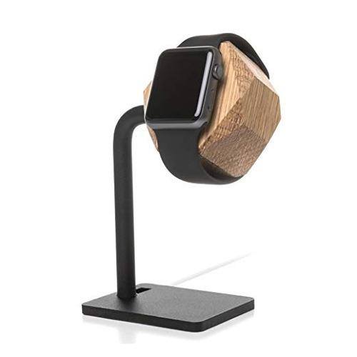accesorios de madera - reloj ecodock edt. - estación de ac