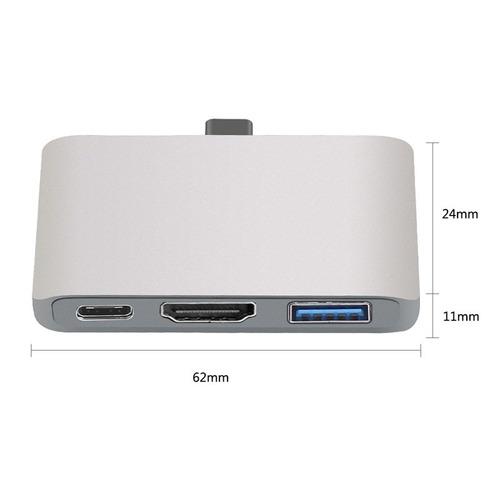 accesorios dock tip c para nintendo switch macbook s8 dex /e
