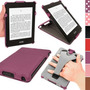 Igadgitz Purple Pu Leather Case Cover For Amazon Kindle Pap