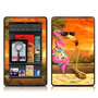 Sunset Flamingo Design Protective Decal Skin Sticker (matte