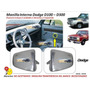 Manilla Interna Dodge D100 - D300 Pickup Y Camion / Par