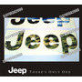 Emblema Relieve Subliminado Jeep Cherokee Y Grand Cherokee