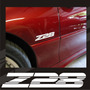 Kit Calcomanias Stickers Emblemas Z28 Para Camaro