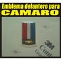 Emblema 3d Delantero Para Chevrolet Camaro