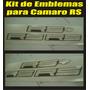 Kit De Emblemas Para Chevrolet Camaro Rs