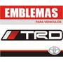 Emblema Trd - Toyota