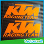 Ktm 2 Calcomanias Stickers Logos Ktm Moto Alta Calidad (par)