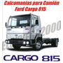 Kit De Calcomanias Para Camion Ford Cargo 815