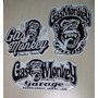 Stickers Calcomanias De Gas Monkey Garage