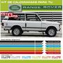 Calcomanias Para Range Rover Lineas Laterales