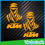 Calcomanias Stickers Ktm Edicion Especial Rally Dakar (par)