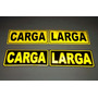 Carga Larga Stickers Calcomanias Reflectivas