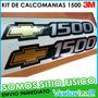 Calcomanias 1500 Chevrolet Silverado Cheyenne Marca 3m