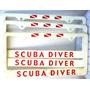 Portaplaca Buceo Scuba Diver Recreativas Decorativas $5