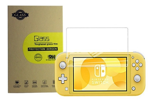 accesorios film glass vidrio templadonintendo switch lite