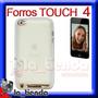 Forro Blanco Ipod Touch 4 Manguera Silicona 64gb 32gb 8gb 4g