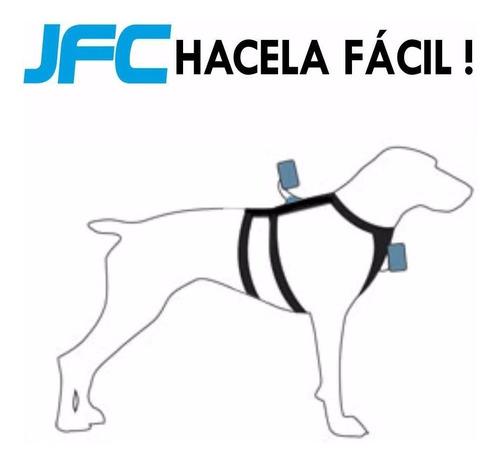 accesorios gopro - arnes de perros fetch para gopro y sjcam