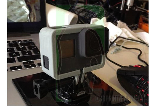 accesorios gopro frame para gopro 2, 3, 4, 5, 6 y sessions