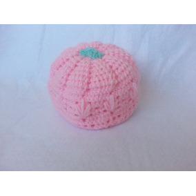 8e98e193a5ee5 Coqueto Gorro Crochet Tejido A Mano Niñas 0 A 3 Meses
