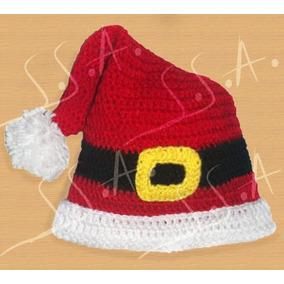 4a436d395161c Gorro Navidad Tejidos A Crochet -bebe-niños-adultos