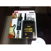 Irig Amplitube - Conecta Tu Guitarra O Bajo A Tu Ipad/iphone