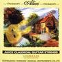 Cuerdas De Nylon Alice Para Guitarr Clasica A106 Tensio Hard
