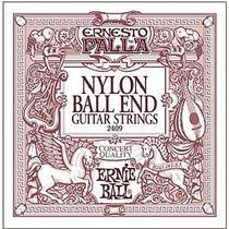 Cuerdas Para Guitarra Acústica Ernesto Palla Nylon Ball End