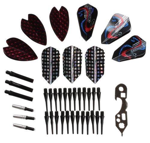 accesorios halex  kit de ajuste para dardos soft tip