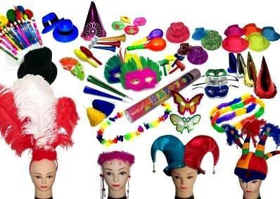 accesorios hora loca manillas neon sombreros mas de 1000 art