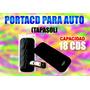Porta Cd Para Carro Tapa Sol 18 Cd