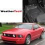 Weathertech Pisos Para Mustang 2007 -2008