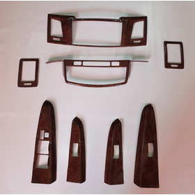 Accesorios Internos Color Madera Toyota Hilux 2013 - On