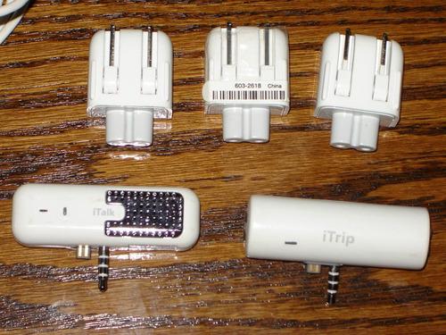 accesorios ipod trip cables etc