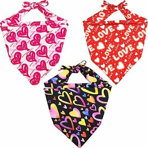 accesorios lamphyface paquete de 3 dias de perro pañuelo ba