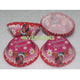Capacillos Para Cupcakes 74mm Minnie Mouse # 8 Pqte 25und